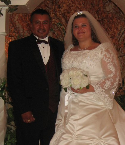 Jose & Amy at their Wedding